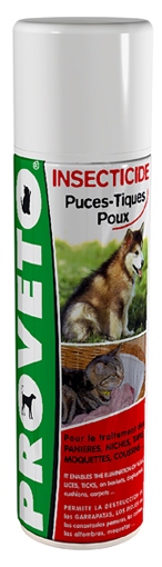 Insecticide pour niches d'animaux