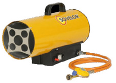 Chauffage au gaz pour chauffage professionnel et industriel chauffage mobile au gaz pfi - Pulseur air chaud ...