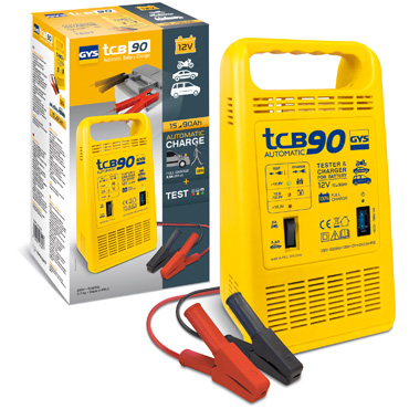 Chargeur batteries 12 V 90 AH TCB 90 automatic