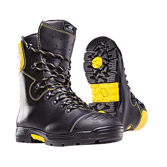 35eacb26f0bb62 Chaussures de sécurité forestières pour bûcherons Logger. Classe 2