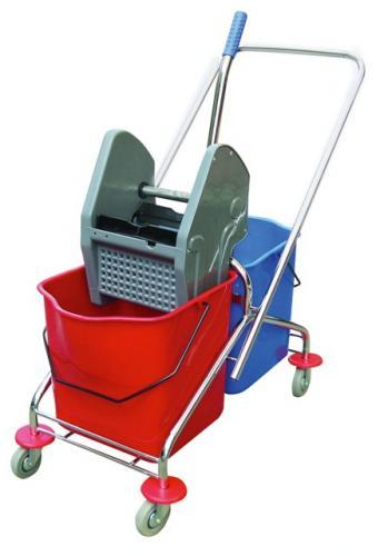 Chariot De Lavage - Equipement De Nettoyage Industriel - Chariot