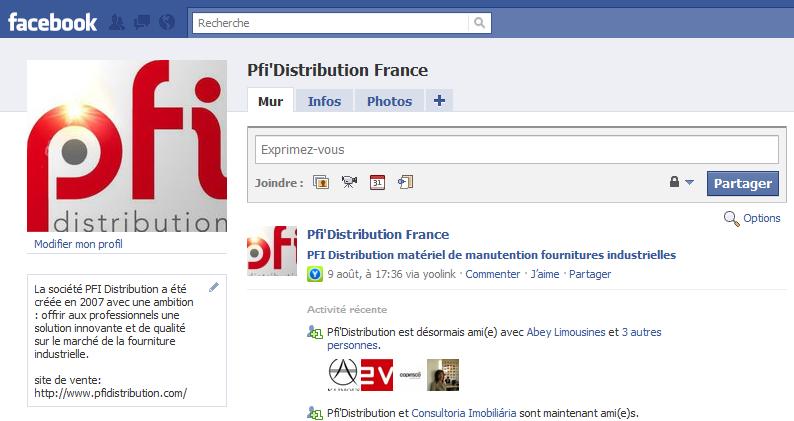 PFI sur facebook